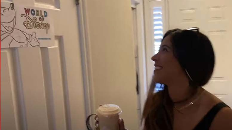 ethan page turns home house into disney world video anniversary wife vlog
