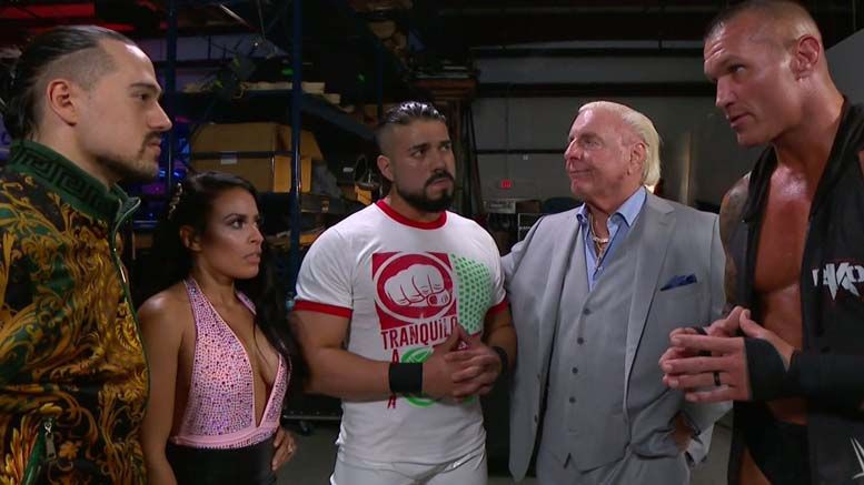 ric flair covid-19 coronavirus safe wwe performance center interview grocery store