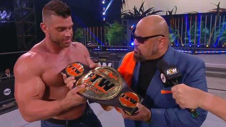 taz ftw championship title aew dynamite fyter fest fight for the fallen brian cage