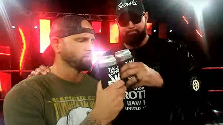 karl anderson luke doc gallows impact wrestling two year deals slammiversary video