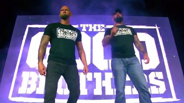 the good brothers impact wrestling debuts slammiversary karl anderson luke gallows video doc