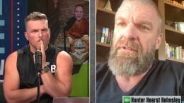 triple h pat mcafee adam cole nxt invite video show
