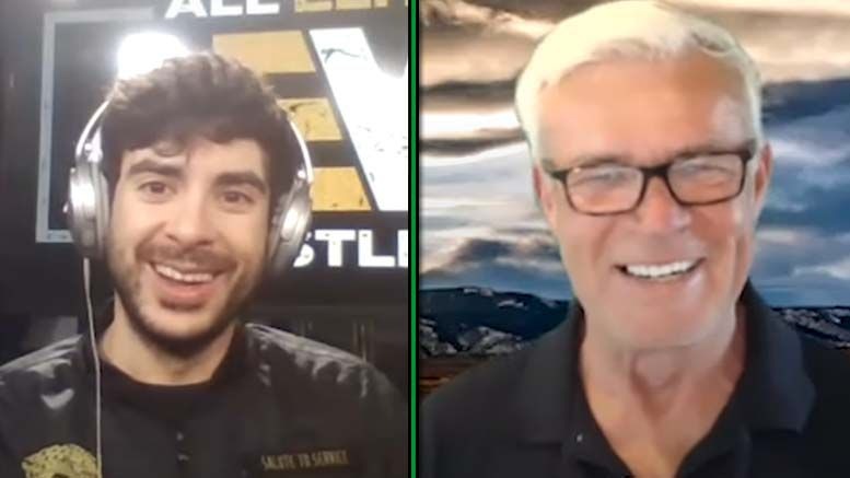 tony khan eric bischoff apology make amends aew wcw fight for the fallen preview