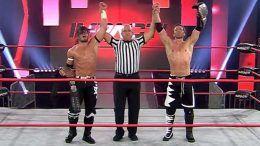 motor city machine guns win impact wrestling world tag team championship titles the north lose