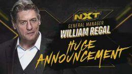 nxt william regal huge announcement teased teasing wwe