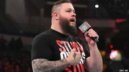 kevin owens face mask policy interview wwe performance center confirm