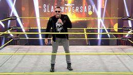 heath slater impact wrestling slammiversary appearance video