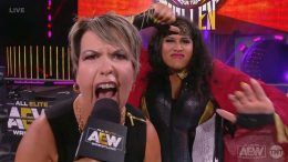 vickie guerrero aew nyla rose manager video