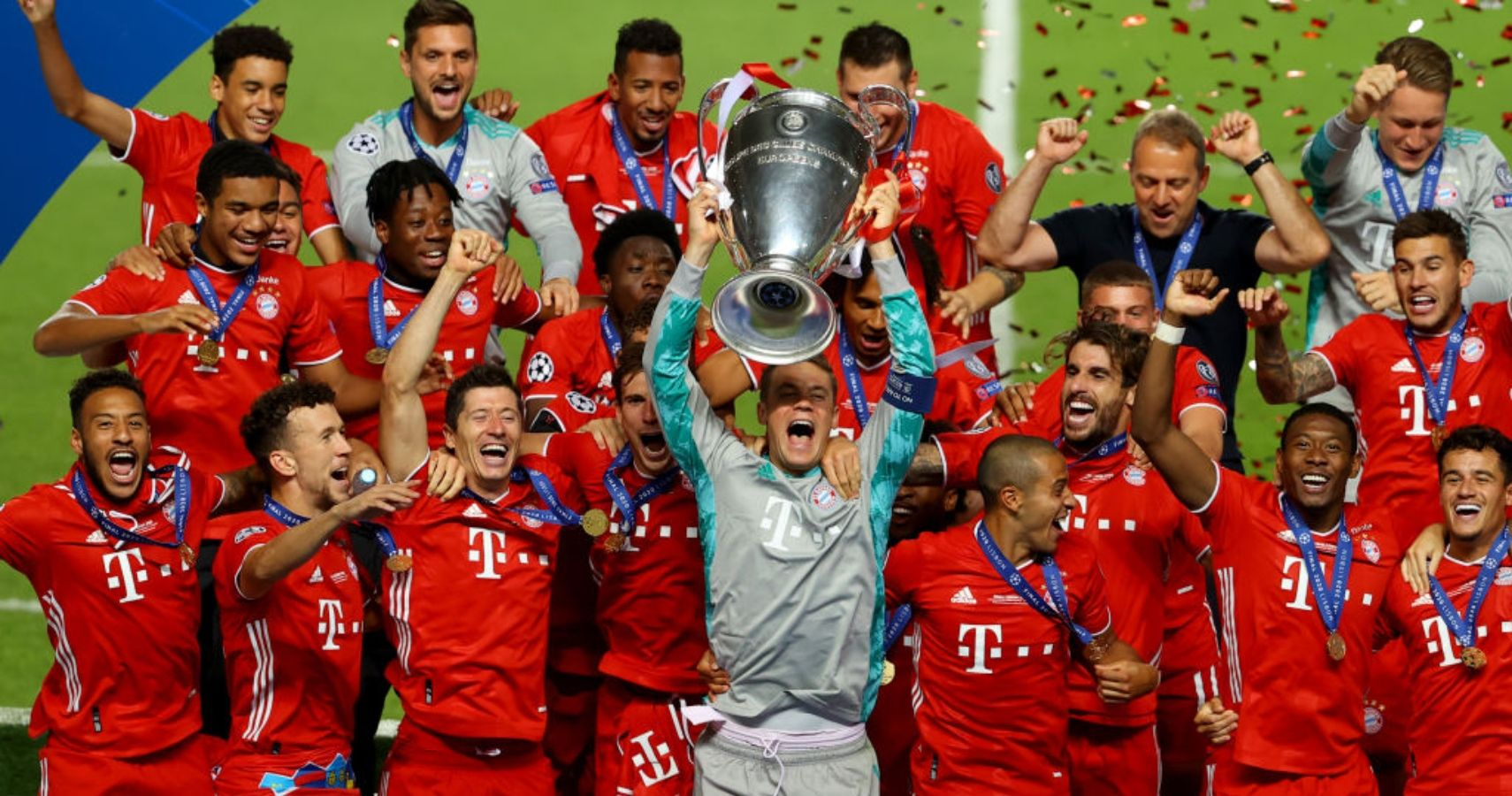 Bayern Munich Wins 6th Champions League Trophy With Close