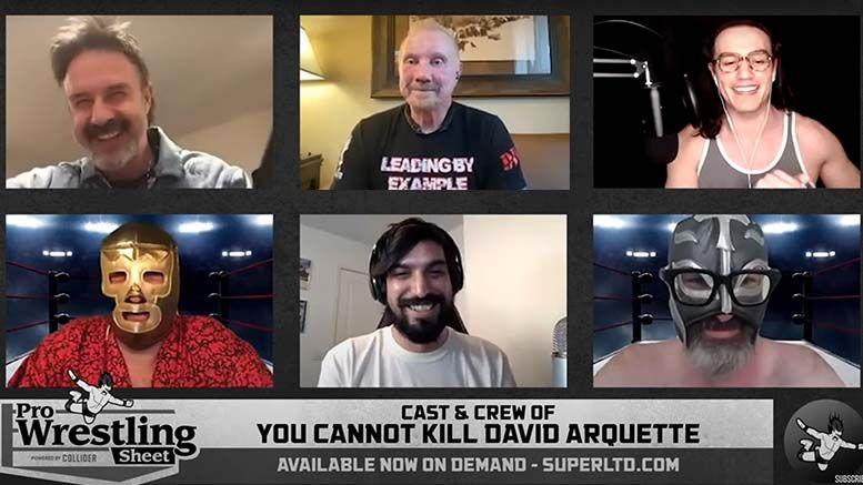 you cannot kill david arquette interview q&a wrestling ddp diamond dallas page rj city