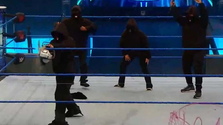 retribution appear smackdown chainsaw chaos destroy ring video