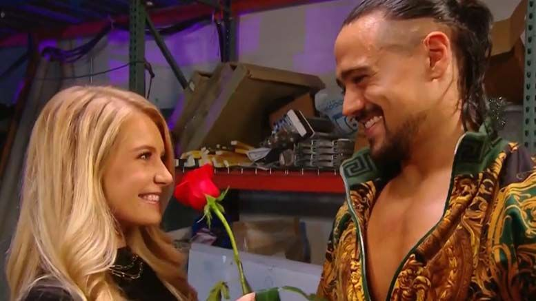 demi burnett bachelor appears on raw wwe