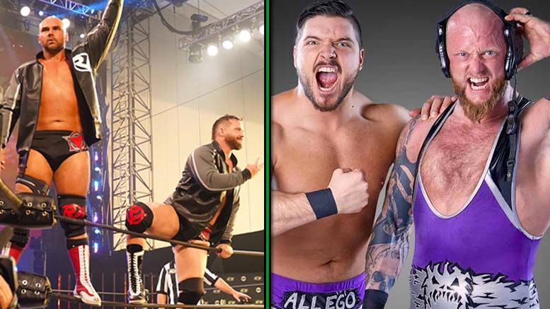 ftr the north inter-promotional series suggestion scott d'amore impact aew all elite wrestling dynamite