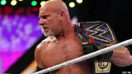 goldberg wwe contract update two matches year
