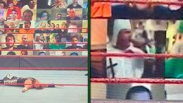 kkk raw fan virtual crowd thunderdome wwe statement