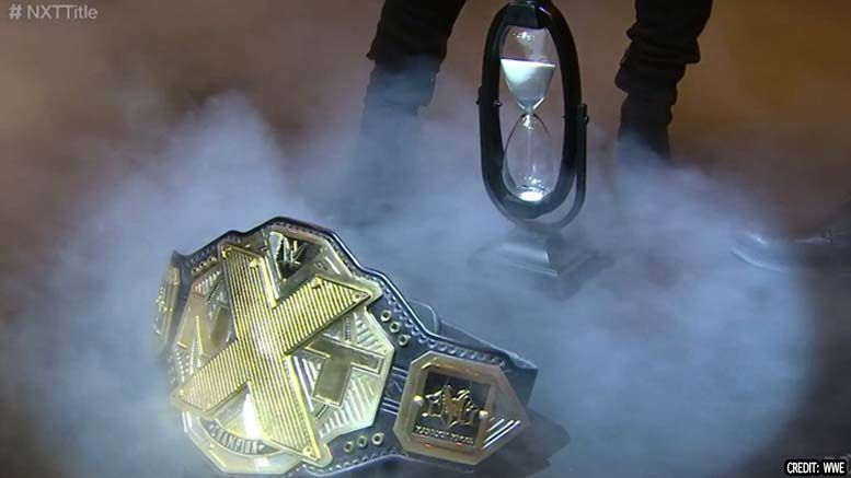 karrion kross relinquished nxt championship injury