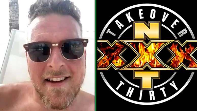 pat mcafee accepts challenge adam cole nxt takeover xxx triple h espn get up