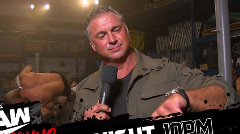 raw underground wwe shane mcmahon announcement