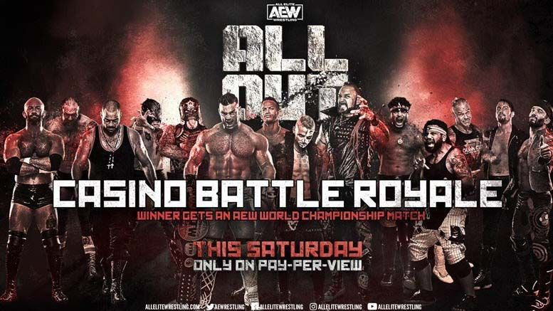 casino battle royale aew all out mystery participant