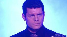 cody rhodes returns aew dynamite dark order video