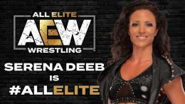 serena deeb aew signs all elite wrestling