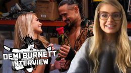 demi burnett bachelor wwe raw angel garza wrestling interview
