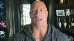 dwayne johnson the rock covid-19 coronavirus healthy video reveal announcement