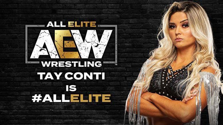 taynara tay conti all elite wrestling aew