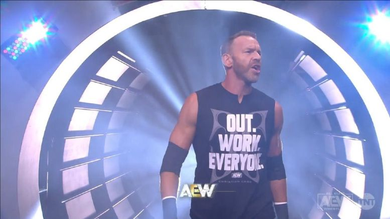 christian cage aew debut
