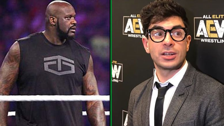 aew tony khan shaq