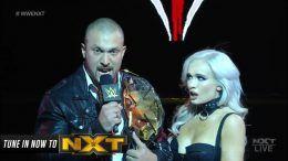 Kross NXT Locker Room Notice