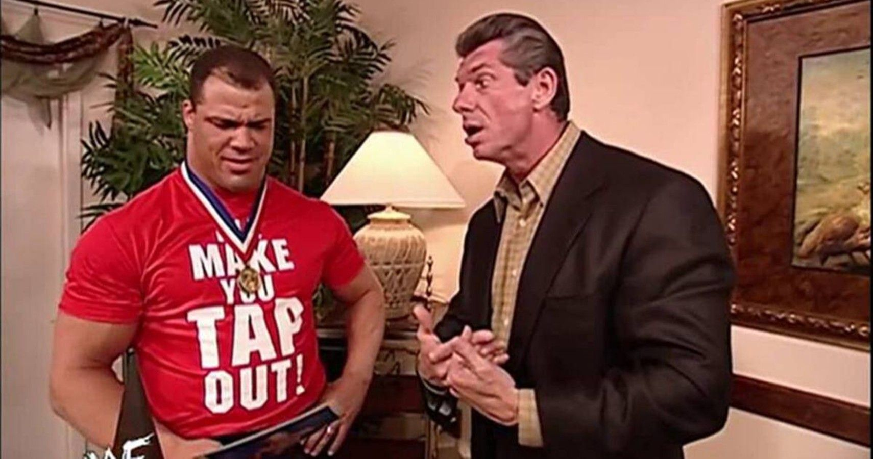 Kurt Angle Once Pulled Down His Pants In Front Of Vince McMahon