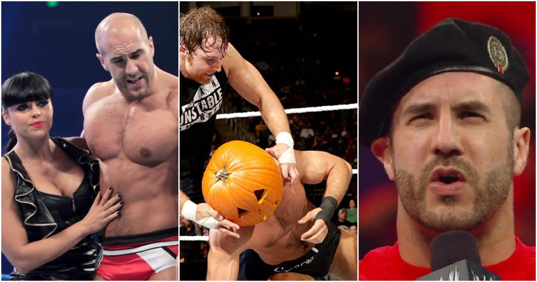 The 10 Most Embarrassing Moments Of Cesaro's Career