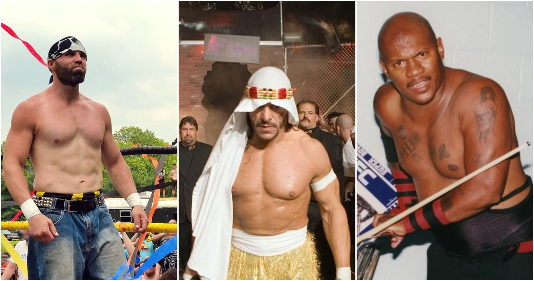 10 Wrestlers With The Best Claim To Be On The Mount Rushmore Of Hardcore Wrestling