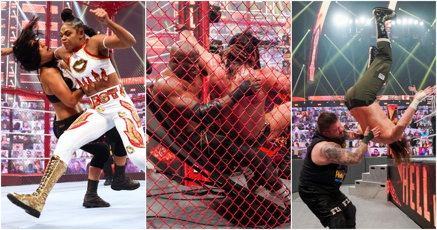 WWE Hell In A Cell 2021: Every Match Ranked From Worst To Best