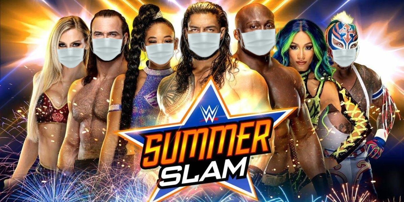 Nevada's Mask Mandate Could Disrupt WWE's SummerSlam Plans