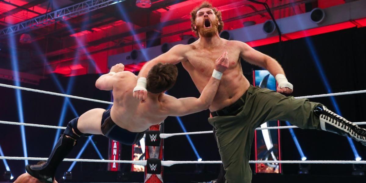 Bryan v Zayn WrestleMania 36